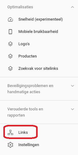 Search Console Links