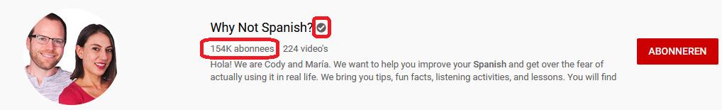 YouTube kanaal SEO